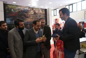 بازدید مدیرعامل کانون از جشنواره و بازار فیلم پویانمایی تهران