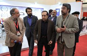 بازدید حسین انتظامی از یازدهمین جشنواره بینالمللی پویانمایی تهران
