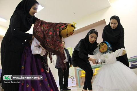 دومین انجمن تخصصی هنرهای نمایشی نوجوانان در مرکز شماره 24 کانون تهران/ عکس از یونس بنامولایی