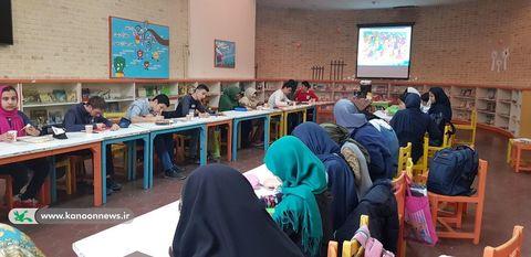 دومین انجمن تخصصی هنرهای تجسمی نوجوانان در مرکز شماره 3 کانون تهران/ عکس از نرگس موسوی