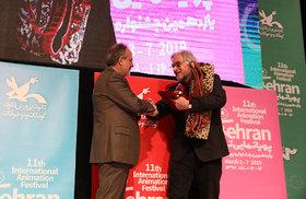 آیین پایانی یازدهمین جشنواره بینالمللی پویانمایی