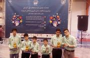 افتخارآفرینی اعضای کانون در مسابقات رباتیک