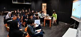 اعضای انجمن هنری کانون با نرمافزار ساخت انیمیشن آشنا شدند