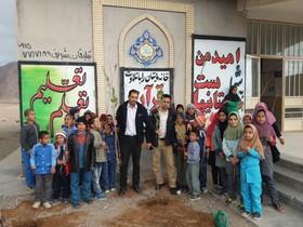 اجرای طرح هر کودک یک نهال در  کتابخانه سیار روستایی زیرکوه