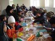 روز کتابخانه گردی در مرکز فرهنگی هنری نراق