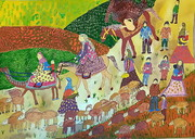 درخشش کودکان و نوجوانان ایرانی در مسابقه نقاشی و عکاسی «لیدیسه» چک