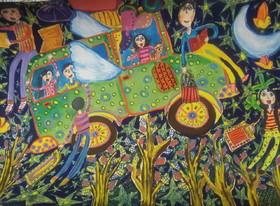 ستایش صادقی 13 ساله از مرکز فرهنگی هنری شماره هفت کانون کرمانشاه