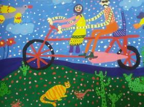 کودکان و نوجوانان ایرانی برگزیده مسابقه نقاشی و عکاسی «لیدیسه » چک شدند