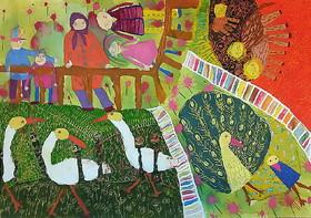محمدمهدی ناصری 6 ساله از مرکز فرهنگی هنری شماره سه کانون اردبیل