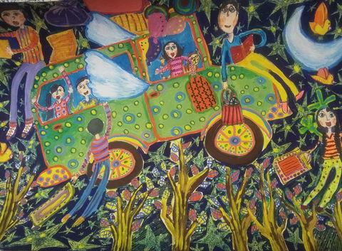 درخشش کودکان و نوجوانان کرمانشاهی در مسابقه نقاشی «لیدیسه» چک