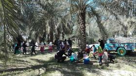 عیدانه کتابخانه سیار کانون خوزستان در روستای طرفایه