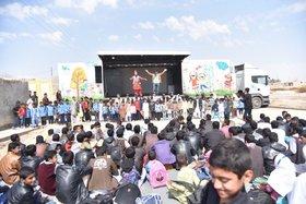 فعالیت انجمن امداد فرهنگی کانون «پیک امید» در سیستان و بلوچستان(۲)