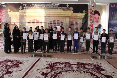 گرامیداشت روز شهید توسط کودکان یاسوجی