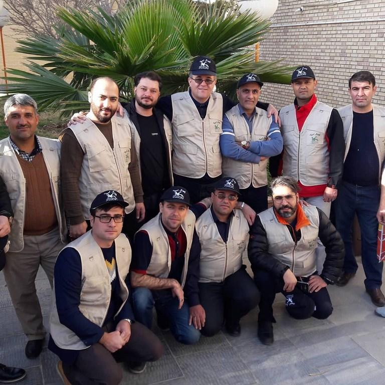 مربیان کتابخانه سیار کانون کردستان در جمع امدادگران فرهنگی کانون در سیستان و بلوچستان