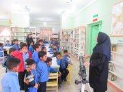 آوای بهار با حضور اعضای کتابخانه پستی میناب