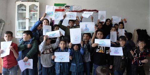 گزارش تصویری پیشواز نوروز در مراکز کانون استان قزوین