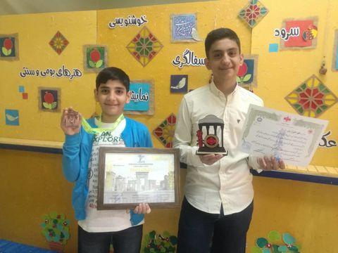 موفقیت اعضای کانون فارس در مسابقات کاراته