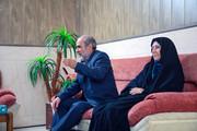 دیدار مدیرکل و کارکنان اداره کل کانون خراسان شمالی با خانواده زوج ایثارگر
