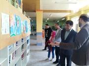 نمایشگاه آرزوی کودکی در فرمانداری فریدونکنار