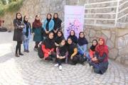 اعضای نوجوان انجمن ادبی آفتاب و مهتاب در آخرین گردهمایی استانی