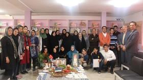 مربی مسئول مرکز فرهنگی هنری آباده به جمع بازنشستگان پیوست