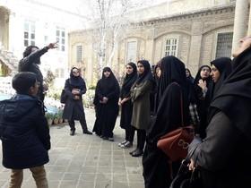 مشهدگردی اعضای مکاتبهای مرکز آفرینشهای ادبی