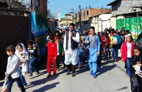 اعضای مراکز فرهنگی و هنری کانون مازندران به استقبال نوروز رفتند