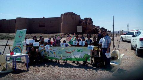 گزارش تصویری فعالیتهای عیدانه پایگاههای نوروزی خراسان شمالی