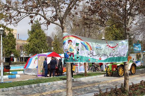 گزارش تصویری فعالیتهای عیدانه پایگاههای نوروزی خراسان شمالی ( بخش دوم )