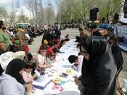 اجرای طرح عیدانهی کتاب کانون در استانهای مختلف کشور