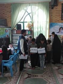 فعالیتهای کتابخانه سیار روستایی شماره 2 درمیان در عیدانه کتاب، کانون خراسان جنوبی