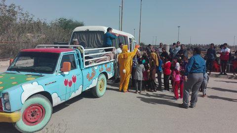 خدمات کانون پرورش فکری به کودکان و نوجوانان سیلزده خوزستانی