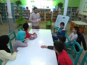 اجرای طرح عیدانهکتاب در کانون استان قم