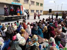 امداد فرهنگی کانون پرورش فکری ویژه کودکان و نوجوانان مناطق سیلزده گلستان ادامه دارد