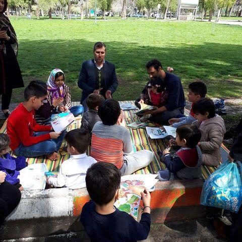 اجراي عيدانه كتاب در كانون پرورش فكري استان كرمانشاه