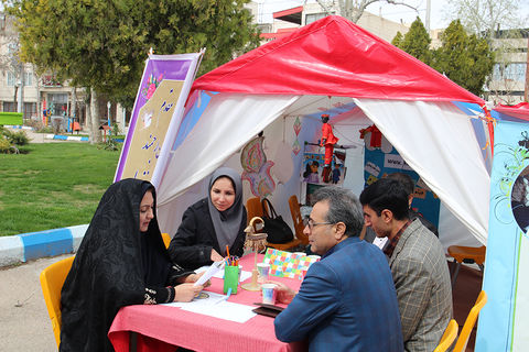 گزارش تصویری فعالیتهای عیدانه پایگاههای نوروزی خراسان شمالی ( بخش سوم )