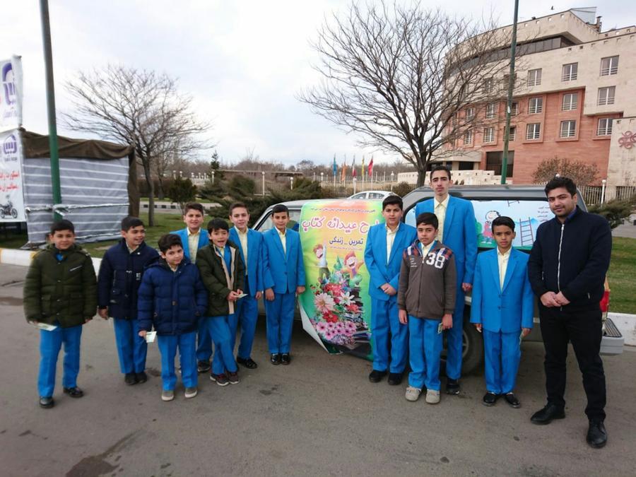 اجرای طرح عیدانهکتاب در کانون استان زنجان