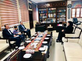 اولین دیدار مدیر کل کانون پرورش فکری با استاندار بوشهر در سال ۱۳۹۸