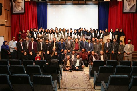 جشن عیدانه با حضور کارکنان کانون پرورش فکری کودکان و نوجوانان استان چهار محال و بختیاری