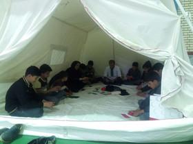 امدادفرهنگی کانون لرستان درمناطق سیل زده