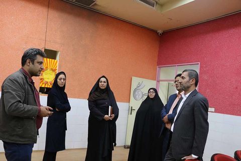 بازدید مدیرکل کانون سمنان از مراکز فرهنگیهنری حوزه شرق استان به قلم دوربین