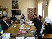 جلسه شورای اقامه نماز کانون  اصفهان برگزار شد