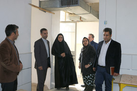 بازدید مدیرکل کانون استان از مراکز فرهنگیهنری سمنان