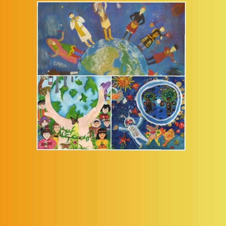 نگاه دختر ارومیه ای به ستارهها، برنده جایزه اول مسابقه نقاشی و پوستر اسپانیا