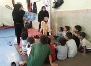 امدادرسانی فرهنگی مربیان کانون پرورش فکری گنبدکاووس به کودکان و نوجوانان سیلزده شرق گلستان