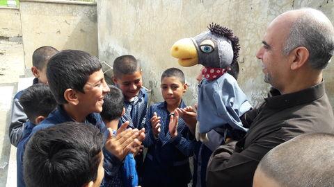 گزارش تصویری حضورکاروان شادی کانون لرستان در روستای «چم خوشه»شهرستان چگنی