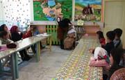 مربیان مرکز شماره دو کانون پارسآباد کارگاه قالبگیری چهره برگزار کردند