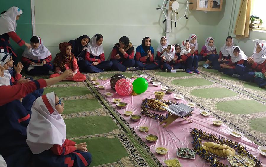 کودکان لرستانی برای ظهورآقا امام زمان(عج)دعاکردند