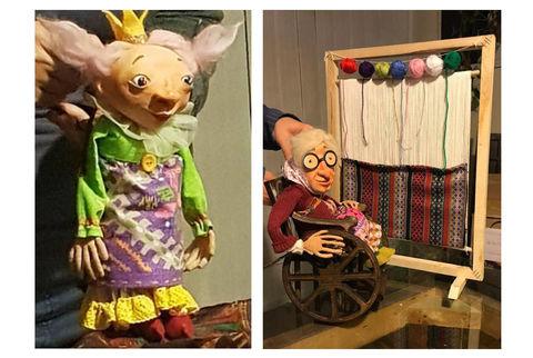 نمایش عروسکی شاد و موزیکال «کچل کفترباز» به کارگردانی آزاده انصاری