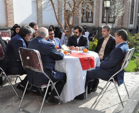 حضور مدیرکل کانون استان اردبیل در ویژهبرنامههای گرامیداشت هفته جوان